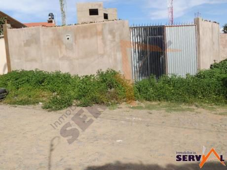Lote En Venta Amurallado  De 352 Metros Zona Arocagua Km 2 Av. Villazon