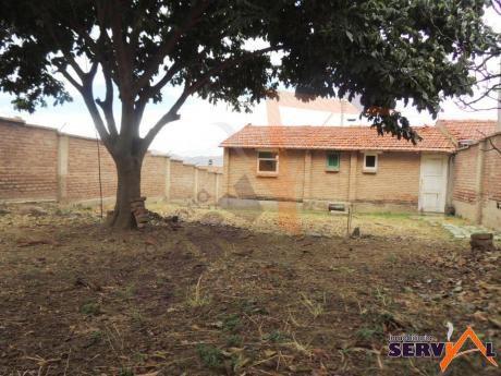 Casa Como Lote Sobre 378 M2 Inmedaciones Av. Cirunvalación Km 6 A Sacaba