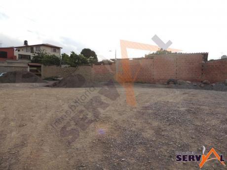Vendo Lote En Esquina, En Inmediaciones De Imba Km 4 1/2 Av. Victor Ustariz Sobre 428m