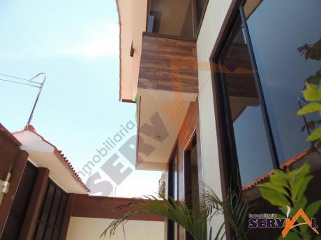 Casa A Estrenar En Venta Av. Tadeo Haenke Inmediaciones Av. Segunda