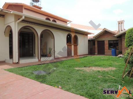 Hermosa Casa En Venta De 660 Metros Zona Mayorazgo