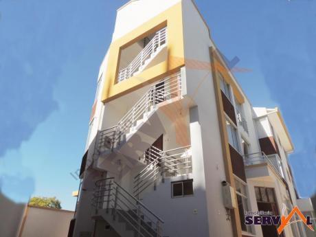 Vendo Hermoso Edificio A Estrenar Sobre La Av. Aniceto Arce, Con 5 Departamentos