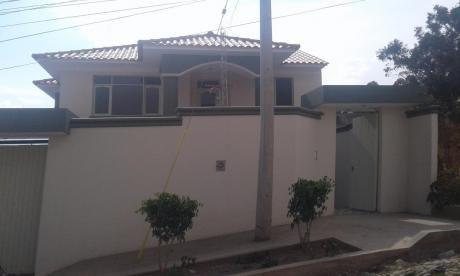 Casa En Venta, A Estrenar, Dos Plantas, Zona Chlilimarca