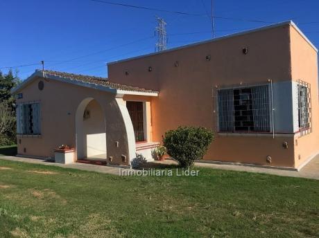 Chacra Con Confortable Casa Y Galpones
