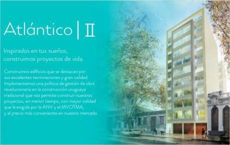 Edificio Atlantico II. Departamento En Venta.   4 Amb. ,  2 Dorm. - 71 M2., 71 M2 Cub.