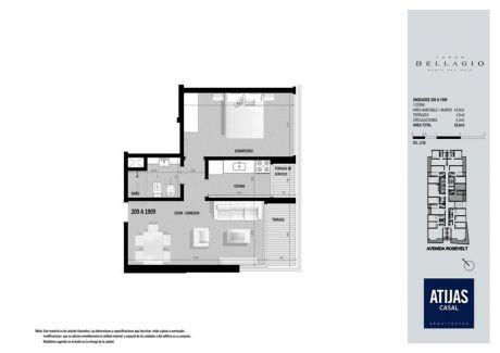 Diseño Y Calidad En Piso Alto En Bellagio Tower - 1 Dorm