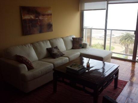 Precioso Apartamento Sobre Rambla, A Metros Del Parque, Espectacular Vista
