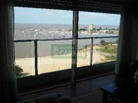 Espectacular Apartamento Sobre Puertito Del Buceo. 260 M2, 4 Dorm, Estar Y Serv