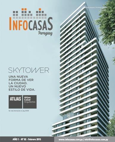 Revista Infocasas Paraguay, Número 02, Febrero 2015