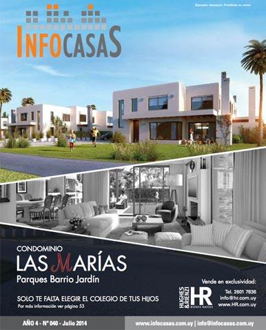 Revista InfoCasas, Número 40, Julio 2014