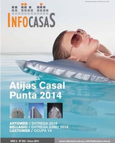 Revista Infocasas, Número 34, Enero 2014