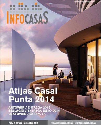 Revista Infocasas, Número 33, Diciembre 2013 / Enero 2014