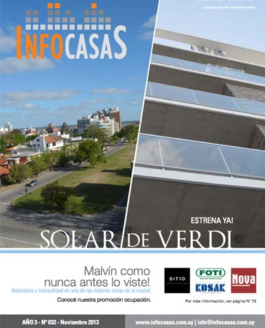 Revista Infocasas, Número 32, Noviembre 2013