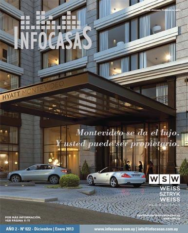 Revista Infocasas, Número 22, Enero 2013