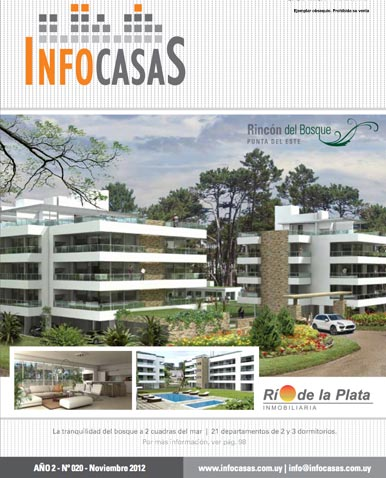 Revista Infocasas, Número 20, Noviembre 2012