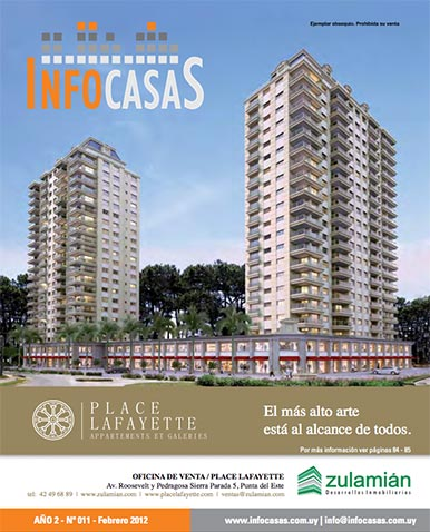 Revista Infocasas, Número 11, Febrero 2012