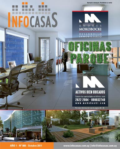 Revista Infocasas, Número 8, Octubre 2011