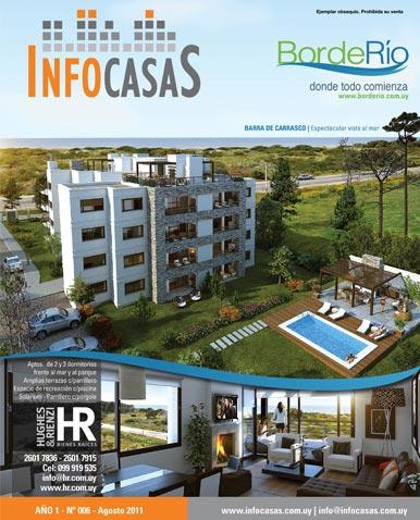 Revista Infocasas, Número 6, Agosto 2011