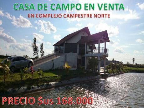 Hermosa Casa De Campo En Venta
