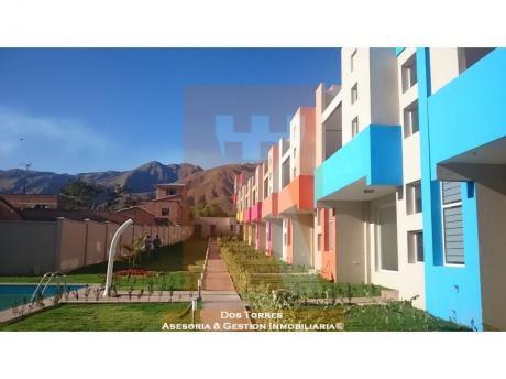 Hermosa Casa A Estrenar Km5 A Sacaba