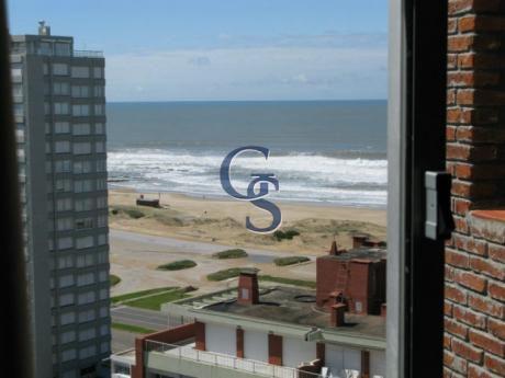 Apartamento En Triangulo Mansa, Brava, Punta Del Este, 1 Dormitorios.