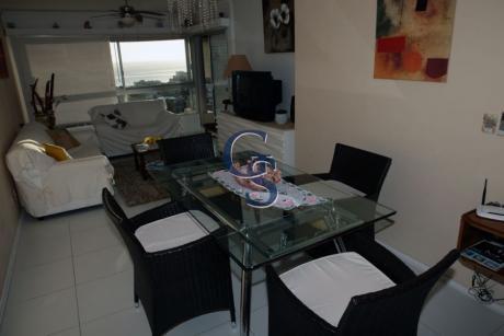 Apartamento En Triangulo Mansa, Brava, Punta Del Este, 3 Dormitorios.