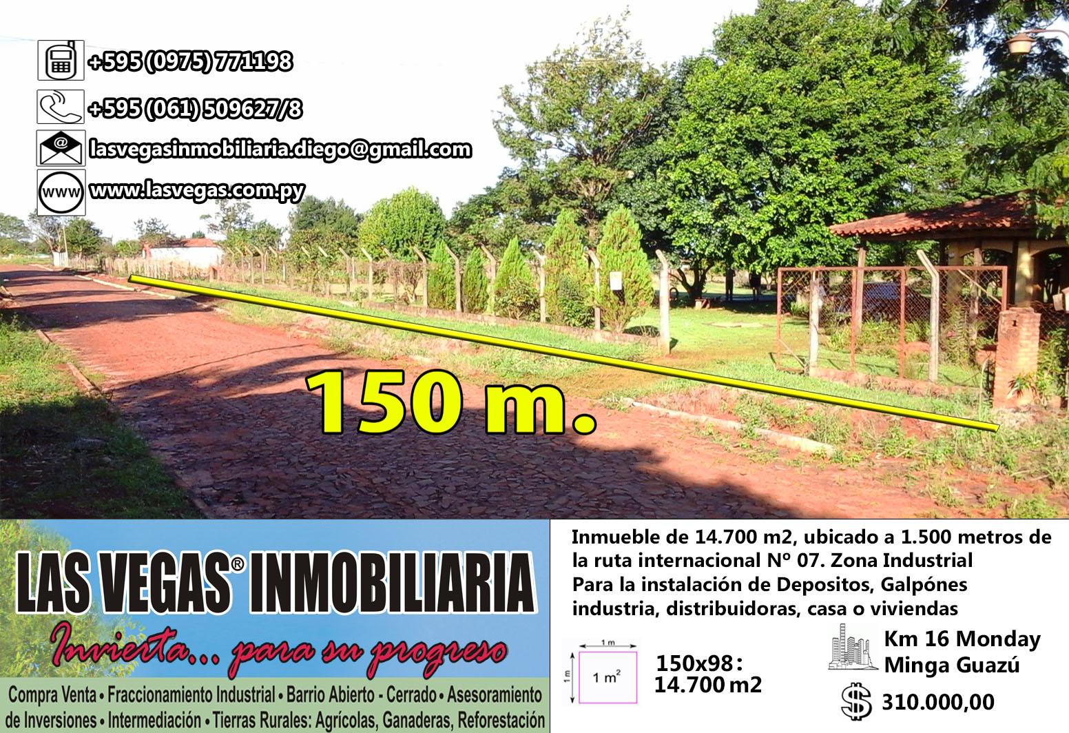 14.700 M2 - Minga Guazú