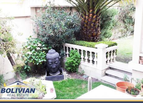 Achumani, Preciosa Y Elegante Casa En Venta