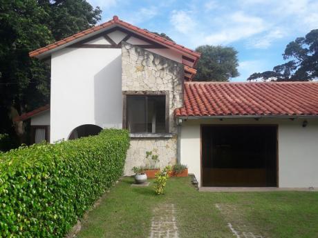 Bonita Casa En Alquiler Amoblada Jardines Del Urubo 1