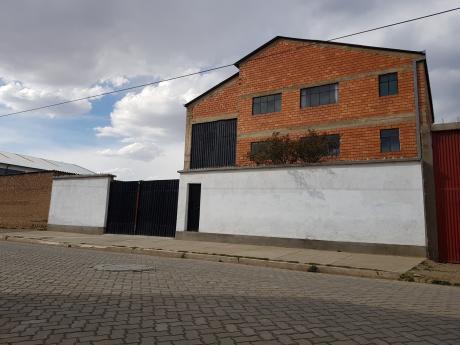 Vendo Planta Industrial En El Alto $us.480.000 Ofertable