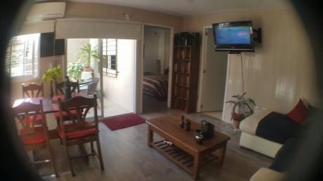 Alquiler Tres Cruces - 1 Dormitorio Con Patio + Parrillero