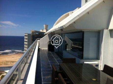 Penthouse En Alquiler Punta Del Este A Metros Del Mar Playa Brava Peninsula - Ref: 19