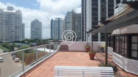 Penthouse En Alquiler Punta Del Este Playa Brava - Ref: 46