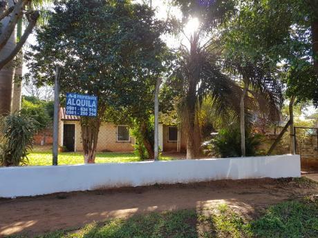 Alquilo Casa En San Lorenzo Barrio Santo Tomas
