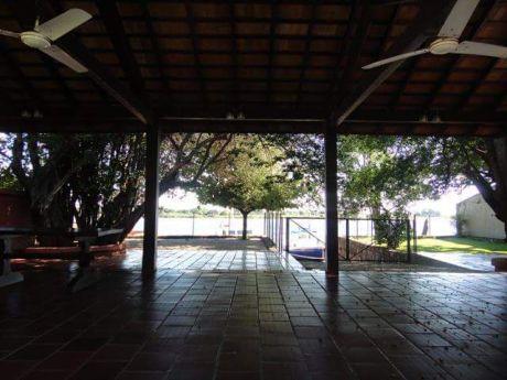 Quinta Sobre Avda Perón - Zona Itá Enramada , Camino Al Yacht. Asunción