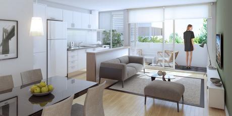 Apartamento A Estrenar En Brazo Oriental De 1 Dormitorio