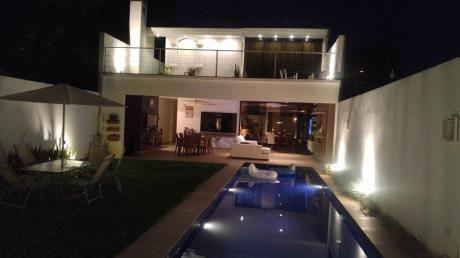 Hermosa Casa En Alquiler Zona Mburicao