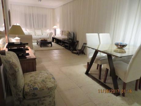 Apartamento Frente Al Mar, 1 Dorm. Impecable Vista C/terraza