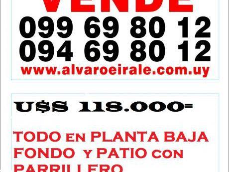 # Planta Baja, Al Fondo Con Parrillero.