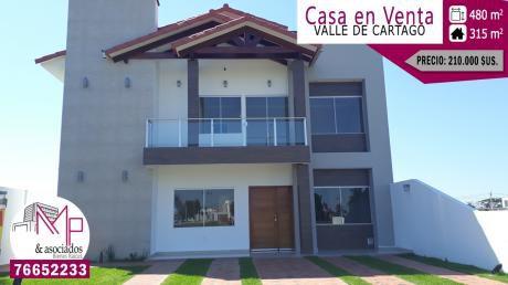 Lujosa Casa A Estrenar De 4 Dorms.