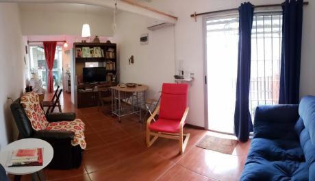 Casa 1 Dormitorio, Patio Y Parrillero.
