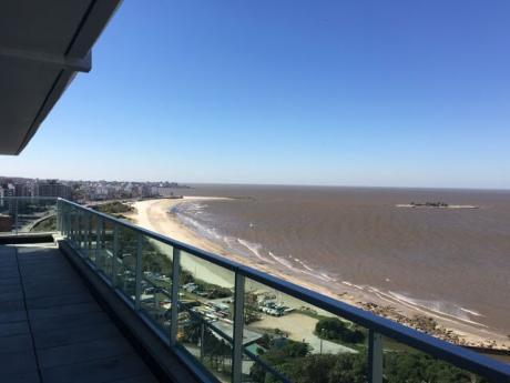Rambla, Espectacular Penthouse Frente Al Mar Con La Mejor Vista