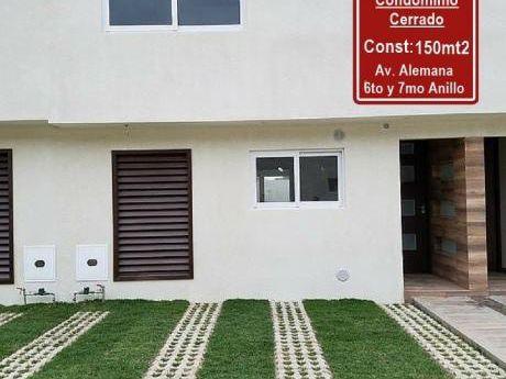 Av. Alemana 6to Y 7mo Anillo - Condominio Cerrado - $us 118.000
