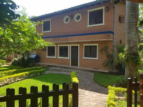 Vendo Hermosa Casa Quinta De 3 Has. En Limpio