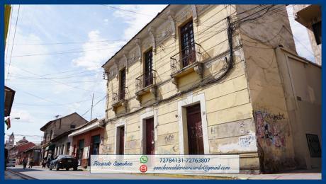 Atención Inversionistas Hermoso Terreno A 3 Cuadras De La Plaza Principal-cbba