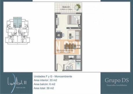 Apartamentos En Playa Mansa: Ngp10817a