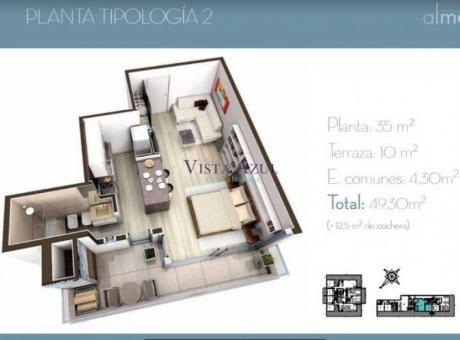 Apartamentos En Playa Mansa: Vaz5409a