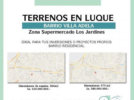Vendo Terrenos En Villa Adela - Luque
