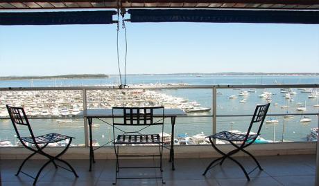 Espectacular Vista Al Puerto De Punta Del Este !!!