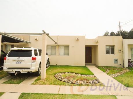 Casa En Alquiler, Condominio Sevilla Pinatar, Av. Banzer Km 11